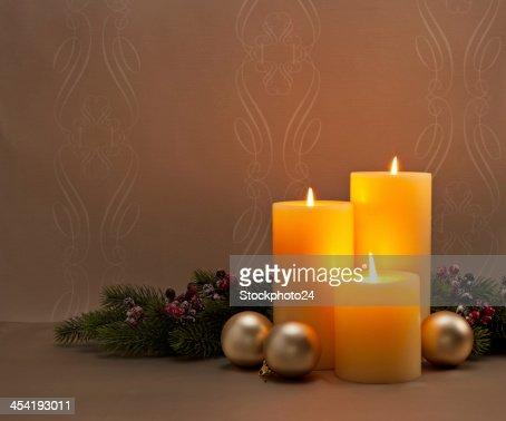 Advent Christmas wreath : Stock Photo