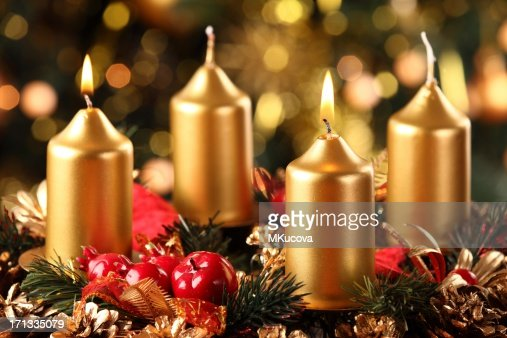 advent wreath 2 candles stock photo getty images. Black Bedroom Furniture Sets. Home Design Ideas