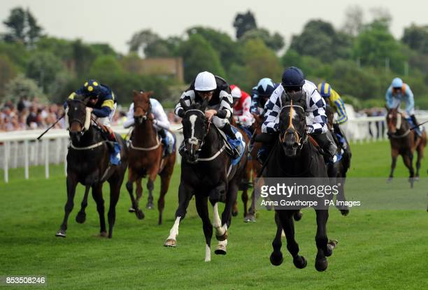 Adventure Seeker ridden by Jim Crowley wins the Racing at York yorkracecoursetipscouk Stakes during the Dante Festival 2014 Festival at York...