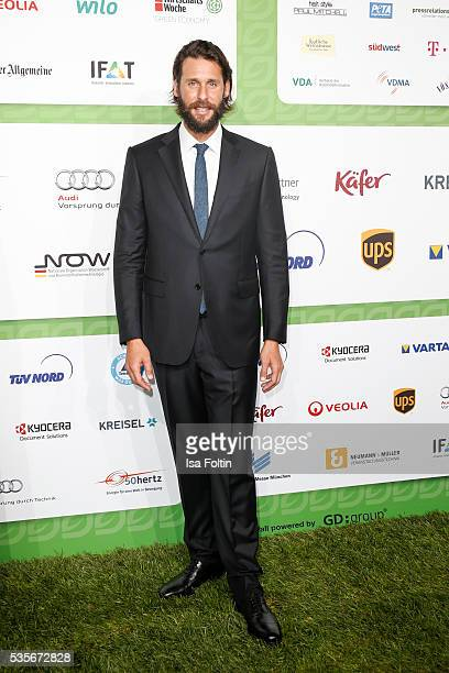 Adventurer David Mayer de Rothschild attends the Green Tec Award at ICM Munich on May 29 2016 in Munich Germany