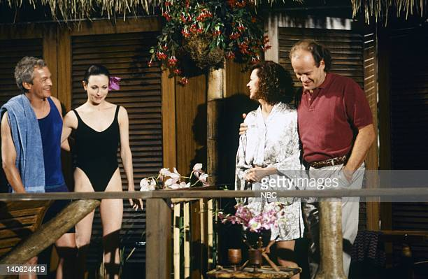 FRASIER 'Adventures in Paradise Part 2' Episode 9 Pictured James Morrison as Brian Bebe Neuwirth as Doctor Lilith Sternin JoBeth Williams as Madeline...