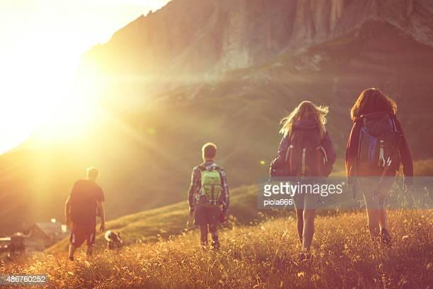 Aventuras nas Dolomitas com cão