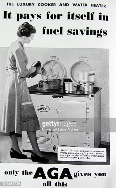 Advert for a 1950's AGA Cooker Dated 20th Century