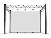 advertisement Exhibition stand