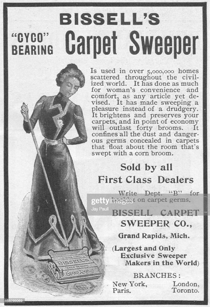 ad for carpet sweeper - Carpet Sweeper