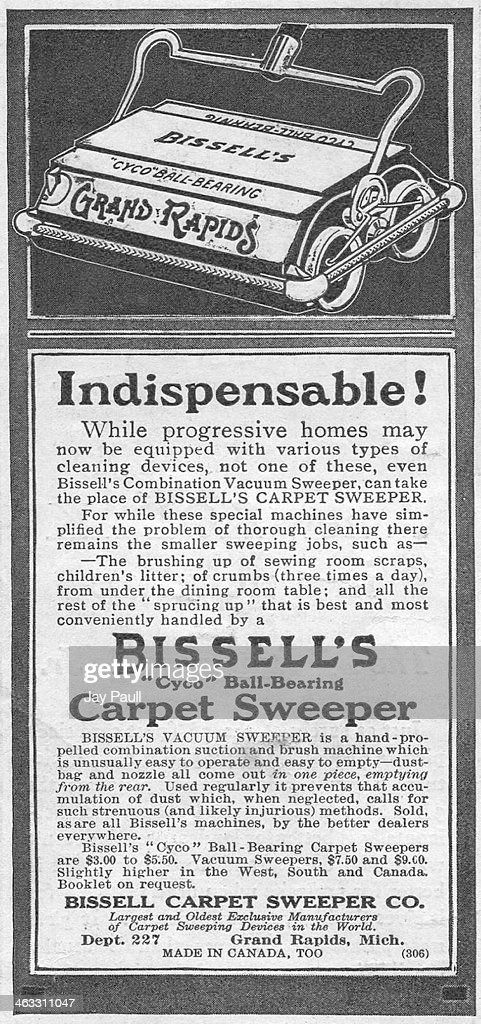 for carpet sweeper by the bissell carpet sweeper company grand rapids michigan