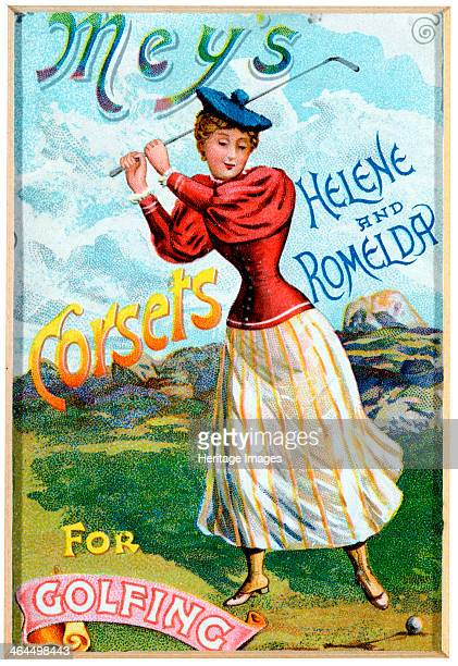 Advertisement for corsets late 19th century