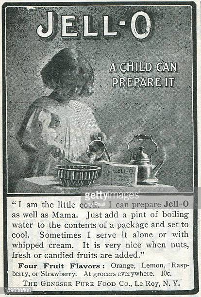 Advertisement for Jello by the Genesee Pure Food Company in Le Roy New York 1903