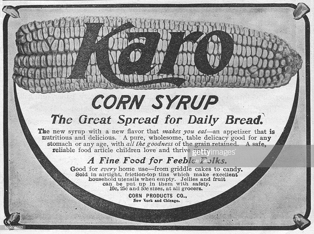 Advertisement for Karo Corn Syrup by Corn Products Company in New York 1903