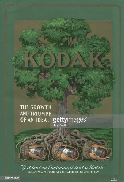 Advertisement for Kodak by Eastman Kodak Company in Rochester 1902