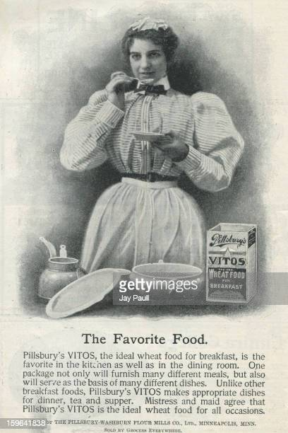 Advertisement for Pillsbury Vitos by Pillsbury Washburn Flour Mills Company in Minneapolis Minnesota 1899