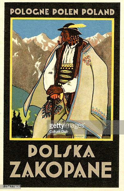 Advertisement for Zakopane Poland Zakopane is in the Southern Highlands of Poland Connection with Karol Szymanowski Polish composer 3 October 1882 –...