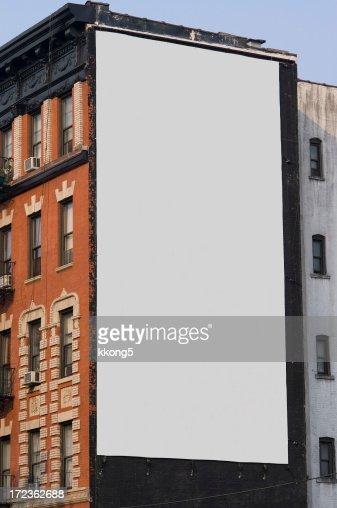 Pubblicità Billboard spazio a Manhattan New York