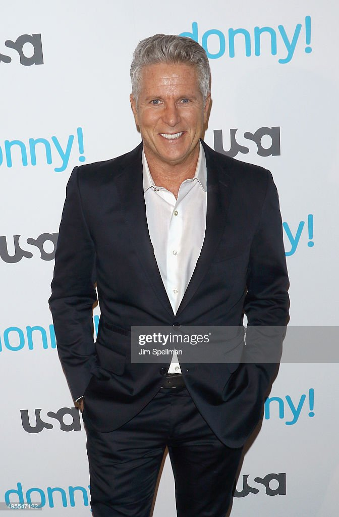 Advertising executive/TV personality <a gi-track='captionPersonalityLinkClicked' href=/galleries/search?phrase=Donny+Deutsch&family=editorial&specificpeople=642511 ng-click='$event.stopPropagation()'>Donny Deutsch</a> attends the USA Network hosts the premiere of 'Donny!' at The Rainbow Room on November 3, 2015 in New York City.