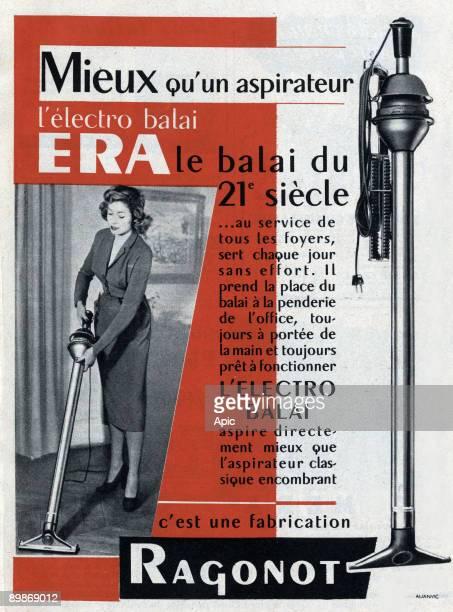 Advertising for aspirateur ERA Ragonot March 1952