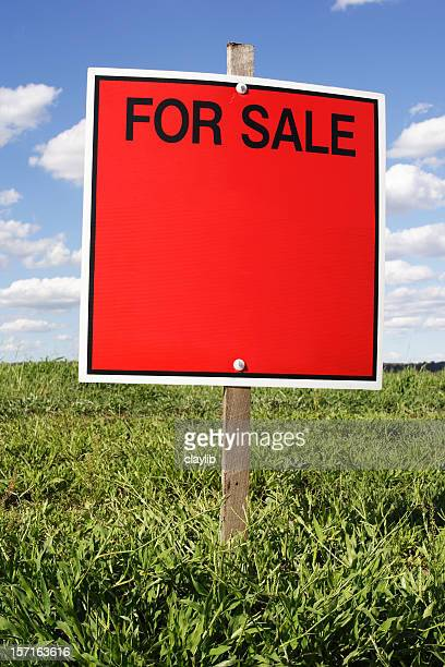 advertising: for sale sign