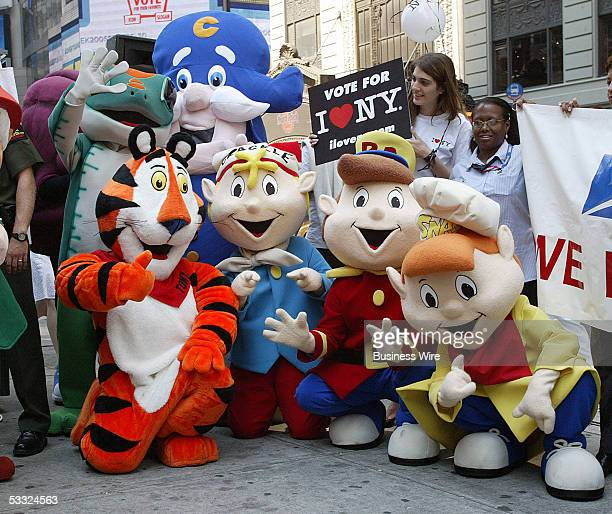 Advertising industry leaders join the world's greatest advertising icons including the Snap Crackle Pop Cap'n Crunc Geico Gecko and Tony the Tiger to...