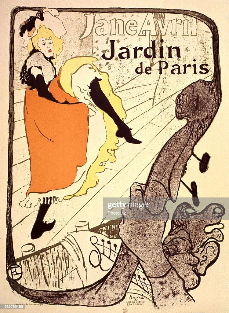 Advertising poster: Jane Avril in the Jardin de Paris Pictures ...