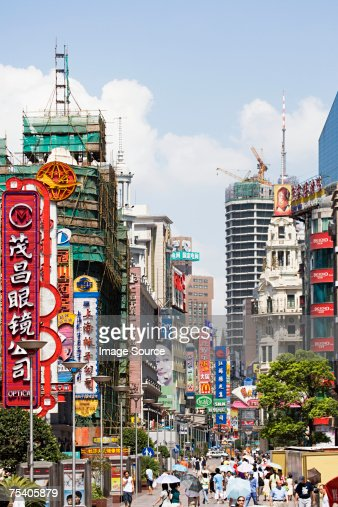 Advertising signs in hong kong