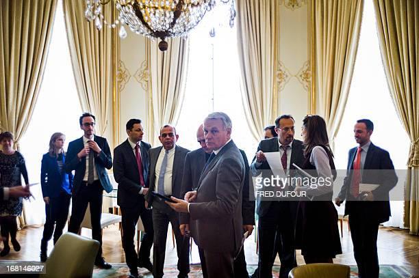 Advisors of France's Prime minister JeanMarc Ayrault deputy Cabinet Director Odile RenaudBasso officer Chloe Morin writter Adrien Walfard writter...