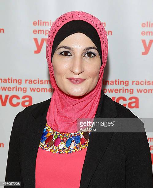 Advocacy and Civic Engagement Honoree Linda Sarsour attends the 2015 Women Of Distinction Awards Gala at Grand Hyatt Washington DC on June 5 2015 in...
