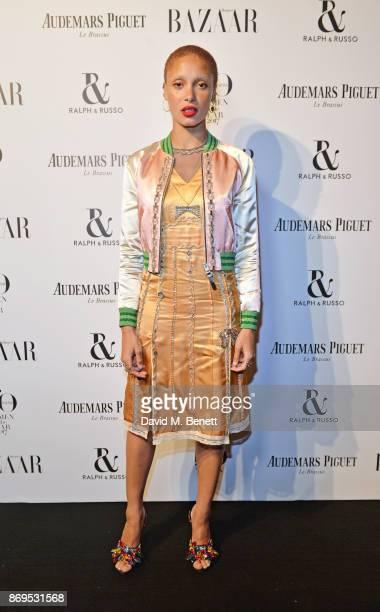 Adwoa Aboah attends Harper's Bazaar Women of the Year Awards in association with Ralph Russo Audemars Piguet and MercedesBenz at Claridge's Hotel on...