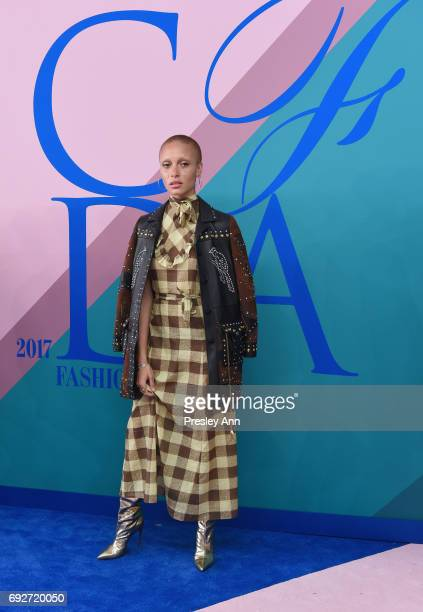 Adwoa Aboah attends the 2017 CFDA Fashion Awards at Hammerstein Ballroom on June 5 2017 in New York City