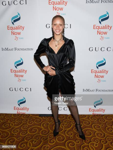 Adwoa Aboah attends the 2017 Equality Now Gala at Gotham Hall on October 30 2017 in New York City