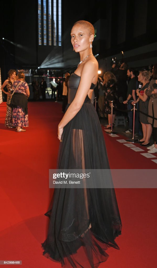 Adwoa Aboah attends the GQ Men Of The Year Awards at the Tate Modern on September 5, 2017 in London, England.