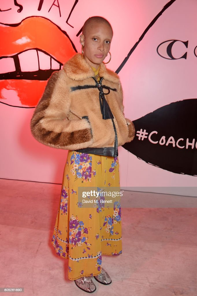 Adwoa Aboah attends the Gurls Talk x Coach Festival at 180 The Strand on July 1, 2017 in London, England.