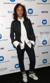 Adwoa Aboah attends The Warner Music Group And Belvedere Brit Awards After Party In Association With Vanity Fair at The Savoy Hotel on February 19...