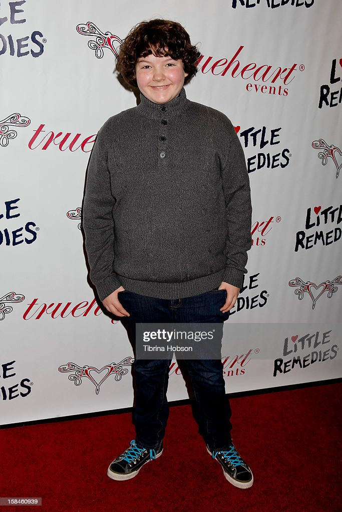 Aedin Mincks attends Truehearts winter wonderland charity gala, benefiting Children's Hospital Los Angeles at Avalon on December 16, 2012 in Hollywood, California.