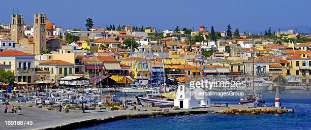 Aegina island Sarconic gulf Greece Aegina