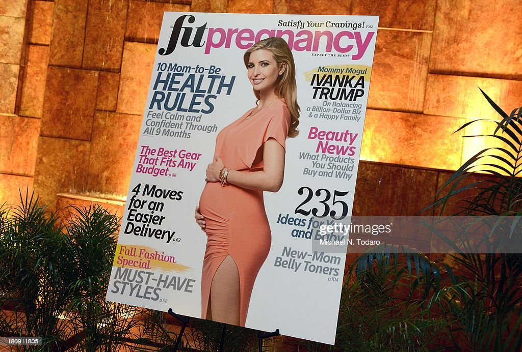 A aeneral view at the Fit Pregnancy Ivanka Trump Cover Party at Trump Tower Atrium on September 17, 2013 in New York City.