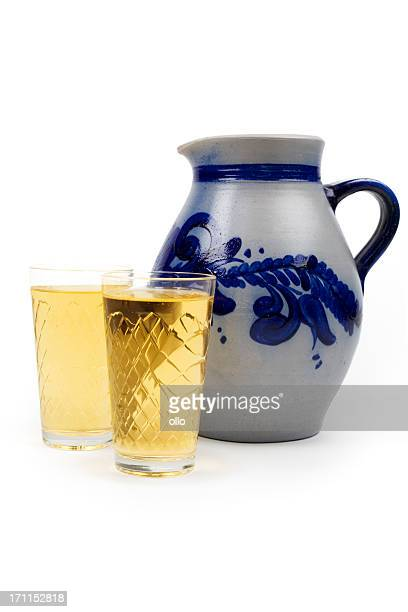 Aeppler - Apfelwein und Bembel, traditional hessian cider drink