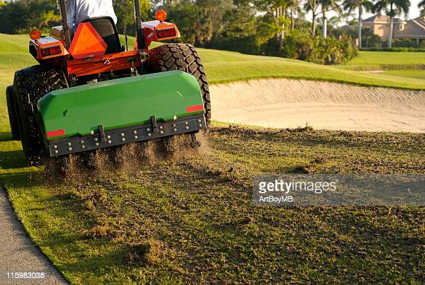 Aeration of Golf Course