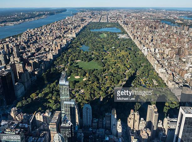 Aerial Central Park - New York