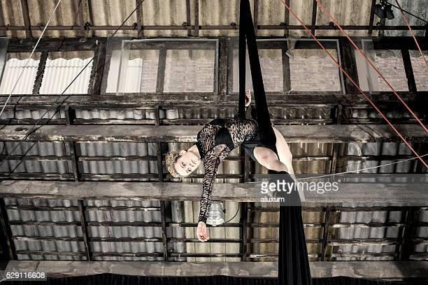 Bailarina de aérea