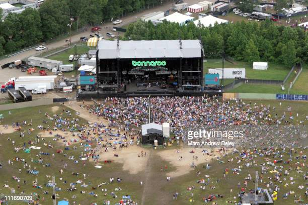 Aerial during Bonnaroo 2005 Day 2 Aerials June 11 2005 at Manchester in Manchester Tennessee United States