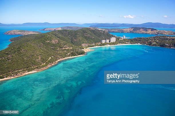 Aerial Hamilton Island, Catseye Beach
