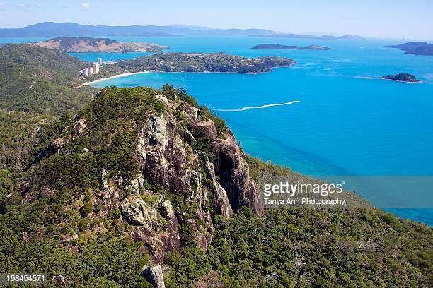 Aerial Hamilton island whitsundays