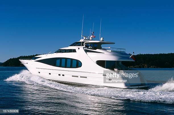 aerial Luxus motor yacht Schiff stanley park, dem vancouver victoria