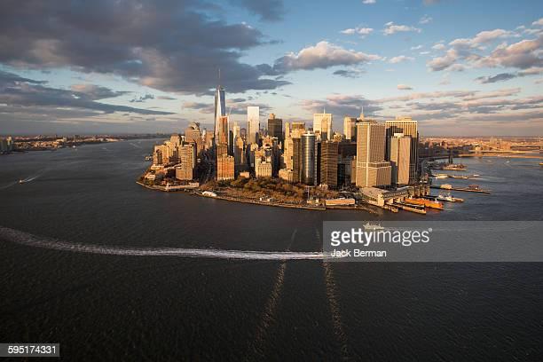 Aerial NYC Manhattan