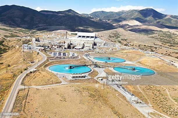 Aerial of a Copper Mine in Utah