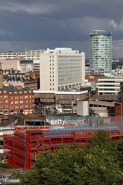 Vista aérea de la ciudad de Birmingham