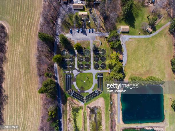 Aerial of Fish Hatchery