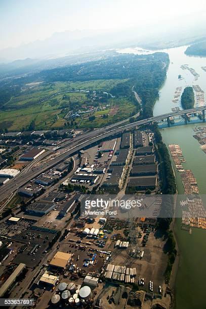 Aerial of industry