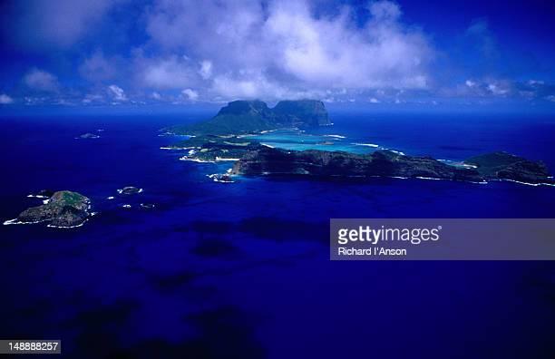 Aerial of island.