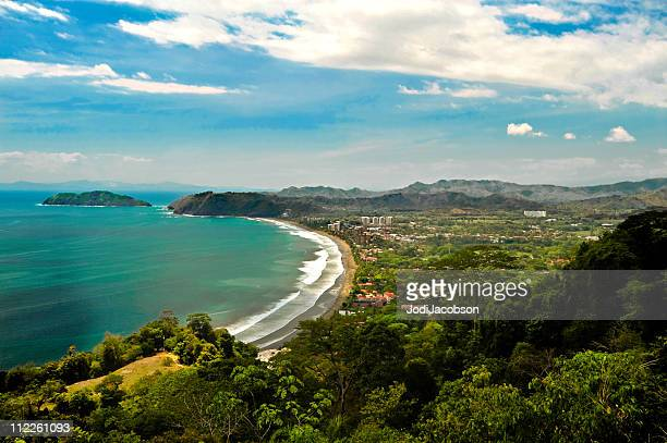 Aerial of Jaco Costa Rica