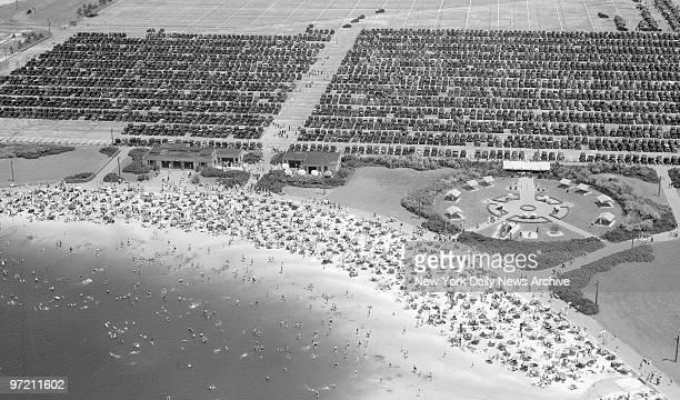 Aerial of Jones Beach